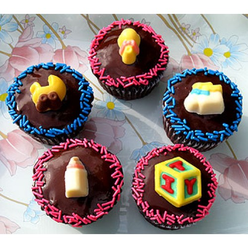 Sweet Baby Cupcakes By Cookie Blossoms Online Order To Manila